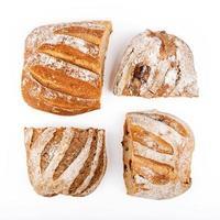 pain rustique de différents types