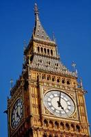 tour de l'horloge de big ben londres uk photo
