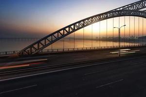 la nuit du pont moderne