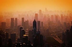 grande ville - panorama photo