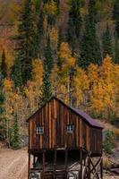 district minier de la montagne rouge, entre ouray et silverton, co, photo
