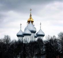 Chapelle en pierre, église orthodoxe, Russie photo