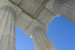 colonnes commémoratives de lincoln photo