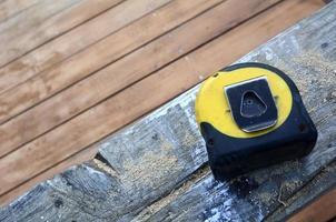 outils de travail - ruban à mesurer photo