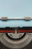 machine à écrire vintage photo