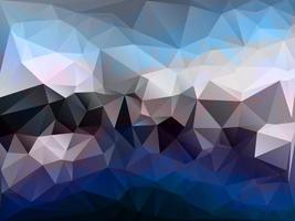 fond de mosaïque polygonale colorée photo