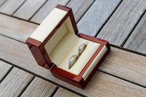 anneaux de mariage photo