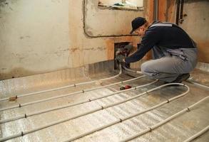 plancher chauffant photo