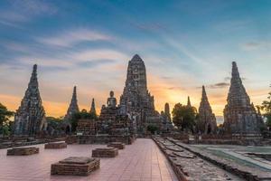temple de chaiwattanaram photo