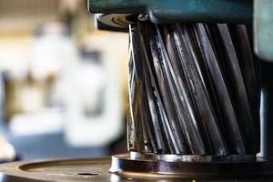 utilisation d'engrenages coniques en spirale pour la transmission à grande vitesse photo