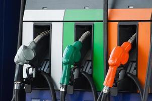 buses de pompe à carburant photo