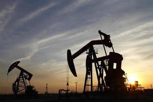 la plate-forme pétrolière photo