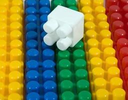 constructeur en plastique photo