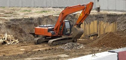 excavatrice photo