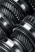 roues dentées en métal photo