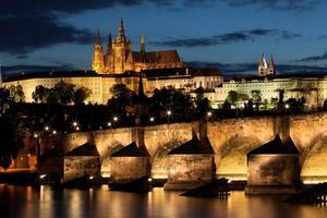 Pont Charles à Prague, République tchèque photo