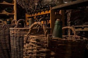 ancienne cave à vin photo