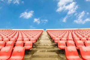 sièges vides au stade photo