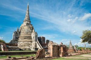 temple de phra sri sanphet photo