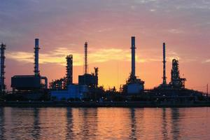 raffinerie de pétrole photo