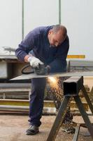 ouvrier métallurgiste photo