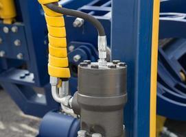 Bras d'excavatrice à piston pour bulldozer hydraulique