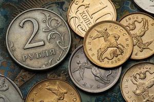 monnaies de la russie photo