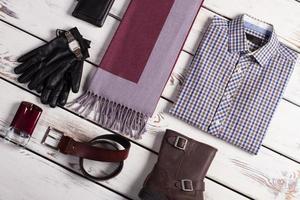vêtements pour hommes d'affaires. photo