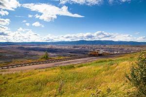 mine de charbon, sokolov, république tchèque photo