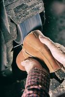 manufacture de chaussure photo