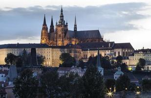 panorama de prague, république tchèque.