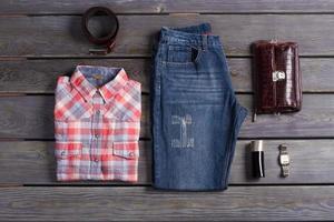 collection décontractée de vêtements. photo