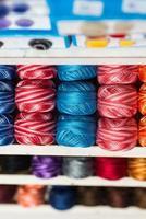 point d'écoute de fil à tricoter photo