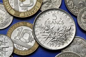 monnaies de france photo