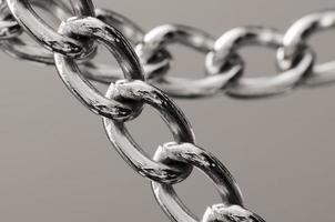 chaîne en acier inoxydable photo