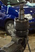 atelier de réparation automobile