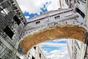 pont des soupirs, venise - italie photo