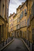 rue étroite française photo