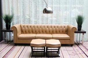 salon moderne photo