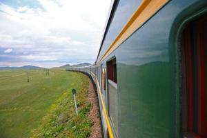 train trans-mongol photo