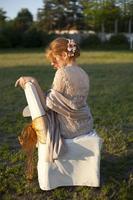 cheveux roux femmes photo