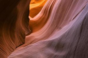 canyon de fente d'antilope inférieure photo