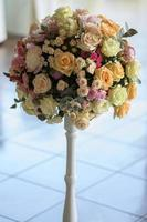 bouquet décoratif de fleurs photo