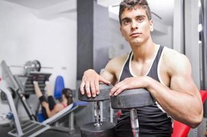 les gens de gym photo