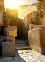 murs en pierre en ruine photo
