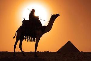 pyramides bédouines photo