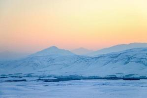 afghanistan, montagne, kabul, paysage, neige photo