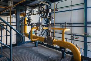 unité d'inventaire de gaz naturel photo