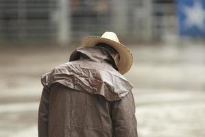 cowboy en attente photo