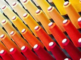 coloré des fils de cône photo